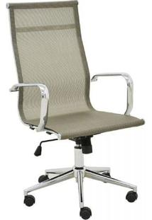 Cadeira Office Rivatti Sevilha Alta Dourada