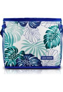 Bolsa Térmica Grande Jacki Design Praia Piquenique Azul . - Kanui