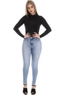 Calça Jeans Cigarrete 265017 Sawary Feminina - Feminino