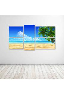 Quadro Decorativo - Beach Hd - Composto De 5 Quadros