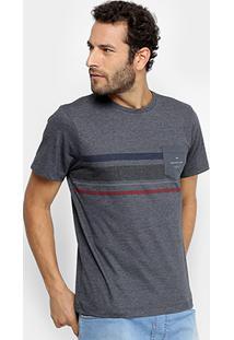 Camiseta Quiksilver Especial Heat Wave Pocket Masculina - Masculino