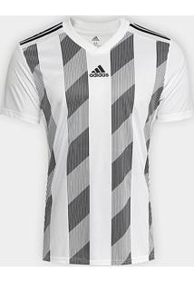 Camisa Striped 19 Adidas Maculina - Masculino-Branco+Preto