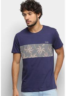 Camiseta Gajang Faixa Camuflada Masculina - Masculino
