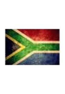 Painel Adesivo De Parede - Bandeira África Do Sul - 1029Png