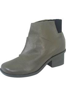 Bota S2 Shoes Luli Salto Verde Oliva