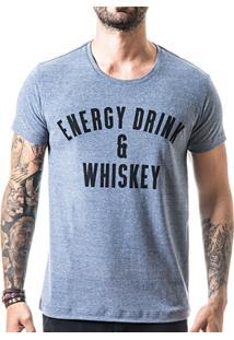 Camiseta T-Shirt Liferock Energy Drink - Masculino
