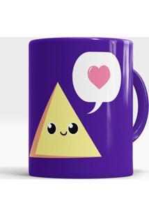 Caneca Triângulo Amoroso