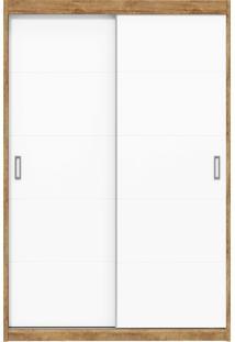Guarda-Roupa 2 Portas Fratelli New Branco E Teka Matic Móveis
