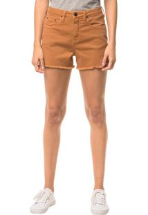 Shorts Color Five Pockets - Havana - 34