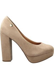 Sapato Vizzano Feminino - Feminino-Bege