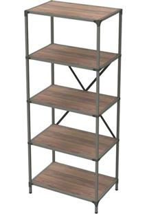 Estante Livro Industrial Decor Peanut 1,80 Mt (Alt) - 34020 Sun House