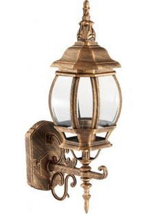 Arandela Biancoluce Colonial Ouro Velho 56Cm Lille Ac201P-M Luminárias