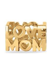 Pingente Life Love Mom Com Banho Ouro Amarelo By Vivara