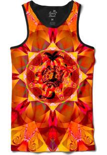 ... Camiseta Regata Long Beach Psicodélica Ilusão Sublimada Amarelo 29ba9ee6d4b