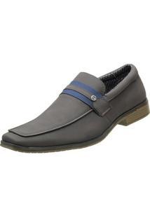 Sapato Venetto Social - Masculino-Cinza