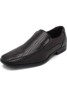 Sapato Broken Rules Textura Marrom