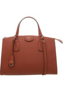 Bolsa Texturizada Com Bag Charm- Vermelhaarezzo & Co.