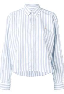 Polo Ralph Lauren Camisa Listrada - Branco