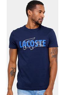 Camiseta Lacoste Regular Fit Croco Masculina - Masculino