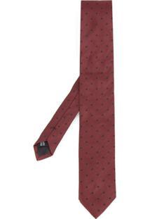 Dolce & Gabbana Gravata De Seda - Vermelho