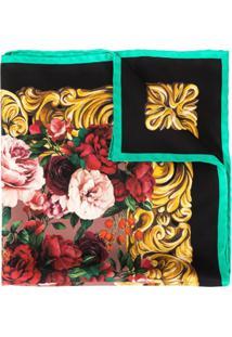 Dolce & Gabbana Echarpe Com Estampa Barroca E Floral - Estampado