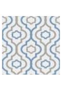 Papel De Parede Adesivo Decoração 53X10Cm Azul -W22564