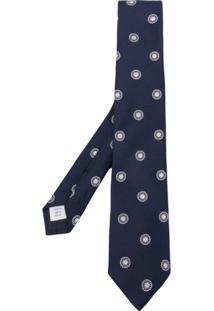 Tagliatore Gravata Com Padronagem - Azul