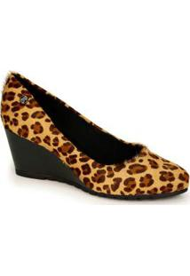 Sapato Anabela Bottero Marrom