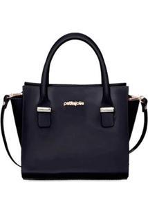 Bolsa Petite Jolie Love Bag Pj5214 Feminina - Feminino-Preto