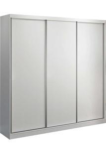 Guarda-Roupa Casal 3 Portas De Correr Branco M Foscarini - Branco - Dafiti