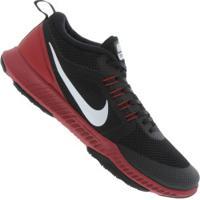 24437d162a Tênis Nike Zoom Domination Tr - Masculino - Preto Vermelho