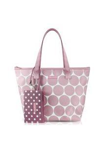 Bolsa Com Niqueleira Jacki Design Dots