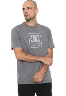 Camiseta Dc Shoes Off Limit Reflective Cinza