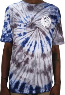 Camiseta Outlawz Tie Dye Do It Your Self Azul