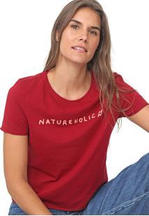 Camiseta Cantão Natureholic Vinho