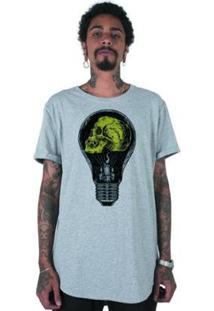 Camiseta Longline Stoned The Lamp Masculina - Masculino