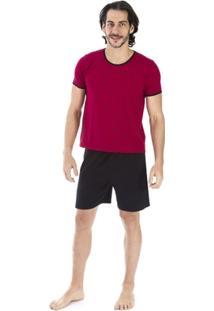 Pijama Curto Inspirate Piquet - Masculino