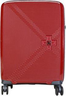 Mala Luxcel Swiss Trip - Masculino-Vermelho