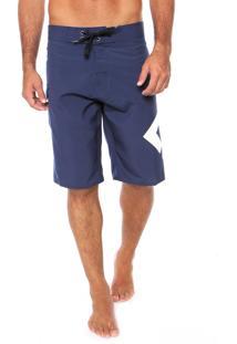 Bermuda Água Dc Shoes Lanai Azul-Marinho