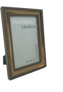 Porta-Retrato 13X18Cm Queen Trend Marrom Infinity