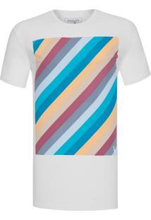 Camiseta Masculina Estampada Listra Vintage - Off White