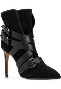 Balmain Ankle Boot Jakie - Preto