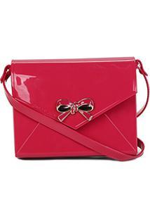 Bolsa Petite Jolie Mini Bag Laço Feminina - Feminino-Pink