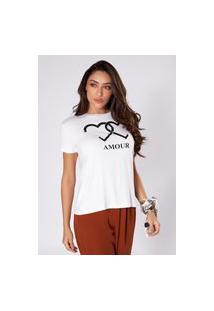 Camiseta Preview Amour Branco