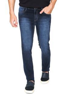 Calça Jeans Hering Skinny Comfort Azul