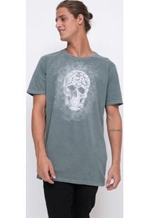 Camiseta Estonada Caveira