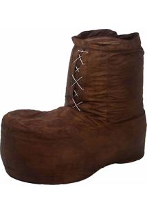 Puff Bota Pop Cipaflex Caramelo Stay Puff