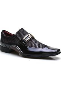 Sapato Social Masculino Calvest Super Confortável - Masculino-Café