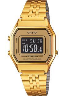 Relógio Casio La680Wga9Bdf Dourado