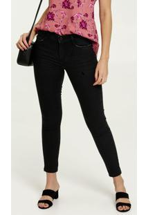 Calça Jeans Skinny Feminina Push Up Marisa